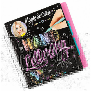 Top Model Magic Scratch Book Hand Lettering