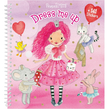 Princess Mimi Sticker Book Dress Me Up
