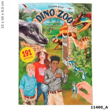 Create Your Own Dino Zoo