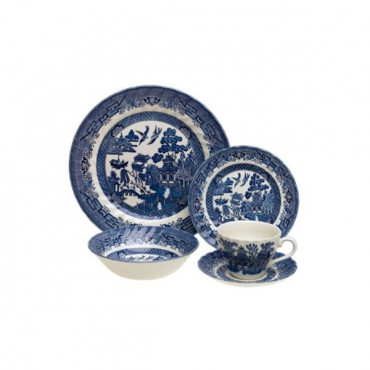 Dinner Set 20Pc Willow Churchill