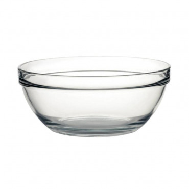 Glass Bowl 26Cm Tempered