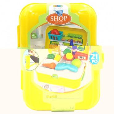 Mini Grocery Set Backpack 21 Piece
