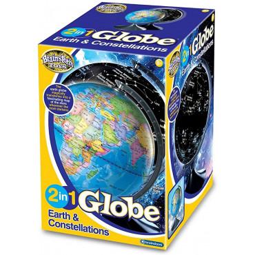 Earth & Constellations Globe
