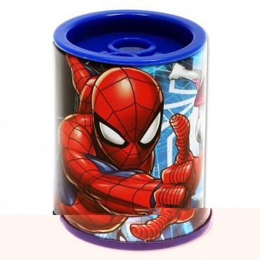 Spiderman Twin Hole Metal Barrel Sharpener