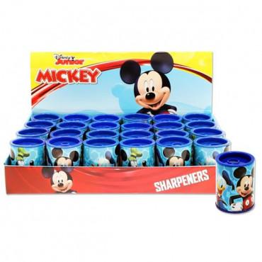 Mickey Mouse Twin Hole Metal Barrel Sharpener