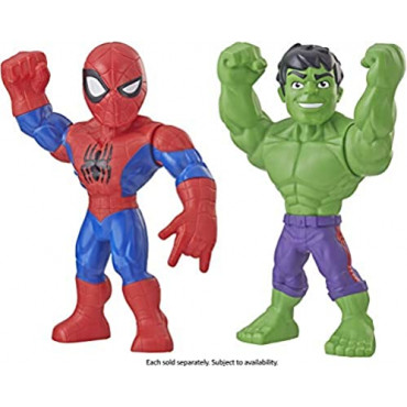 Super Hero Adventures Mega Mightes Assorted