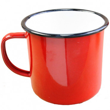 Enamel Mug Red