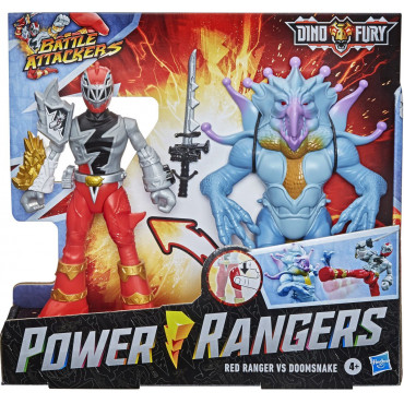 Power Rangers Dino Force Battle Attacker- 2 Pack
