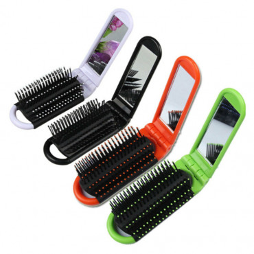 Hair Brush With Mirror