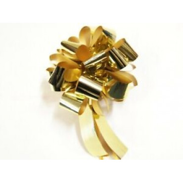 Bows For Wrapping Gold 20Pce