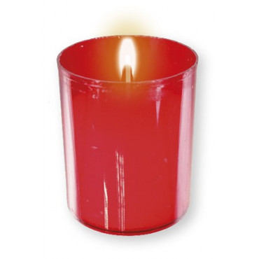 Candles Pk 4 Red Votive