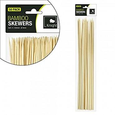 Bamboo Skewers 15Cm 50Pcs