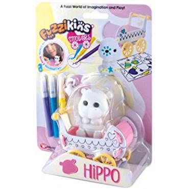 Fuzzikins Fuzzi Stroller Hippo