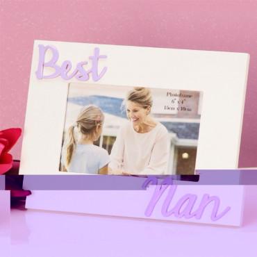 Photo Frame Best Nan 6x4 3 D Letters
