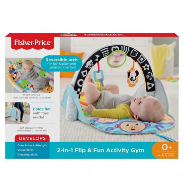 2 In 1 Flip Fun Activity Gym