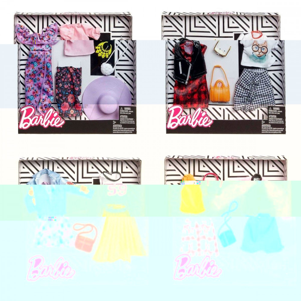 Barbie Fashion 2 Pack Assorted Specify