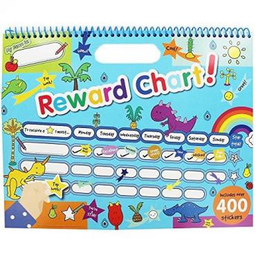 Reward Chart With 400 Stickers