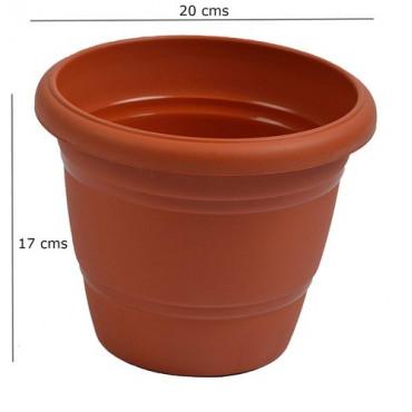 20Cm Pot 8 In Terracotta