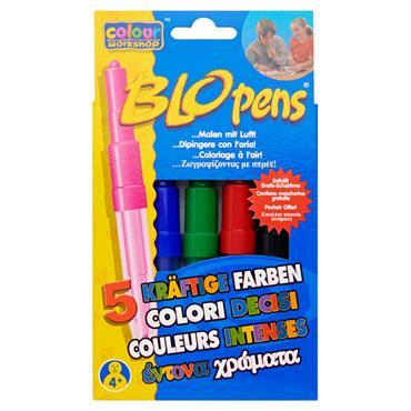 Blo Pens Markers Pk5 Bold