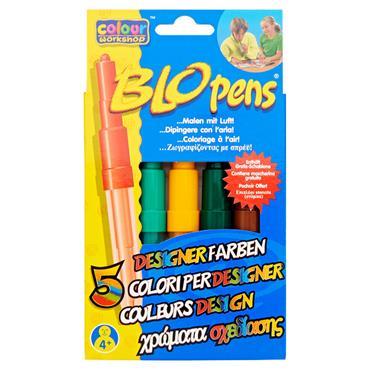 Blo Pens Markers Pk5 Designer Colours