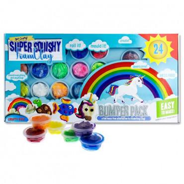 Super Squishy Foam Clay Bumper Pack