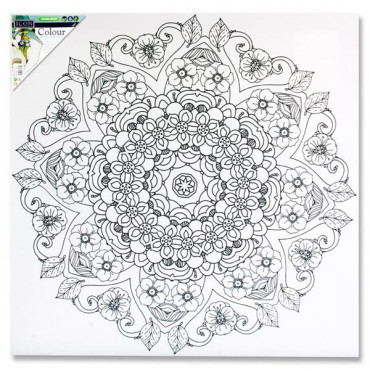 Colour My Canvas Mandala