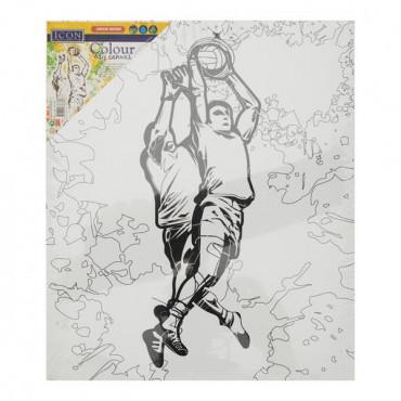 Colour My Canvas - Gaelic Football
