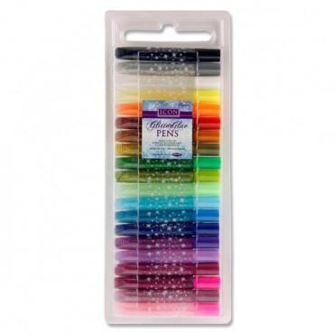 Glitter Glue Pens Pk20