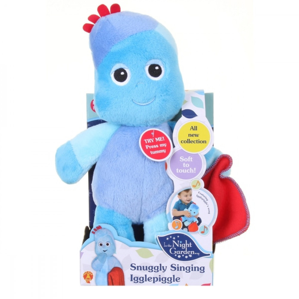 Snuggly Singing Iggle Piggle Soft Toy