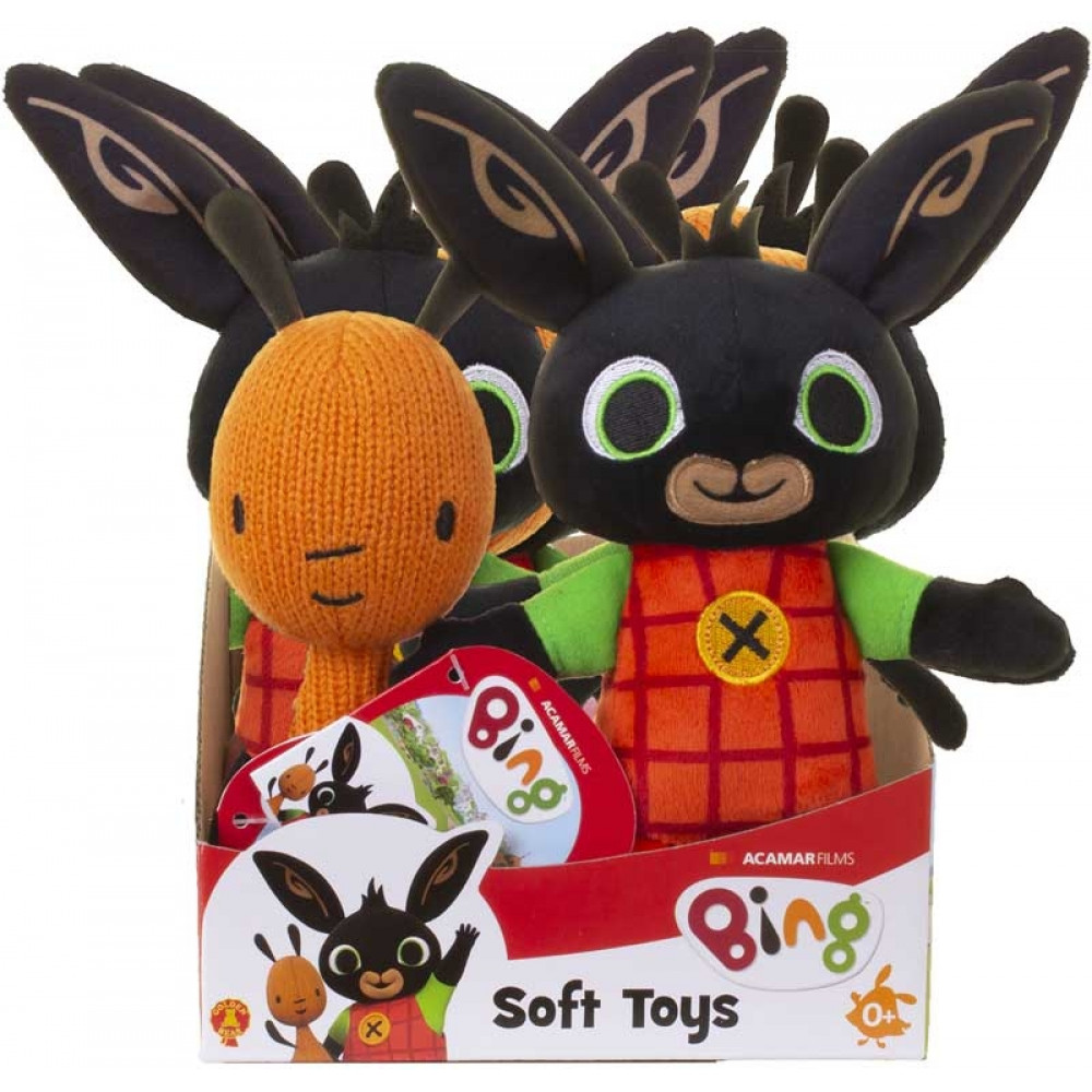 Bing And Friends Soft Toys Assorted
