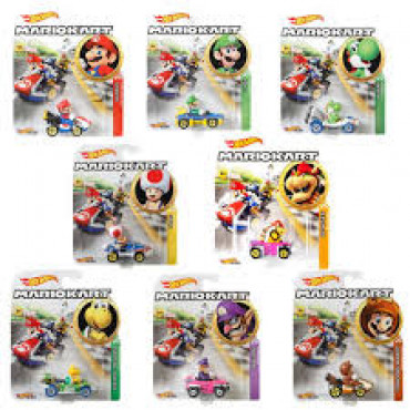 Hot Wheels Mario Kart Assorted- Specify which one