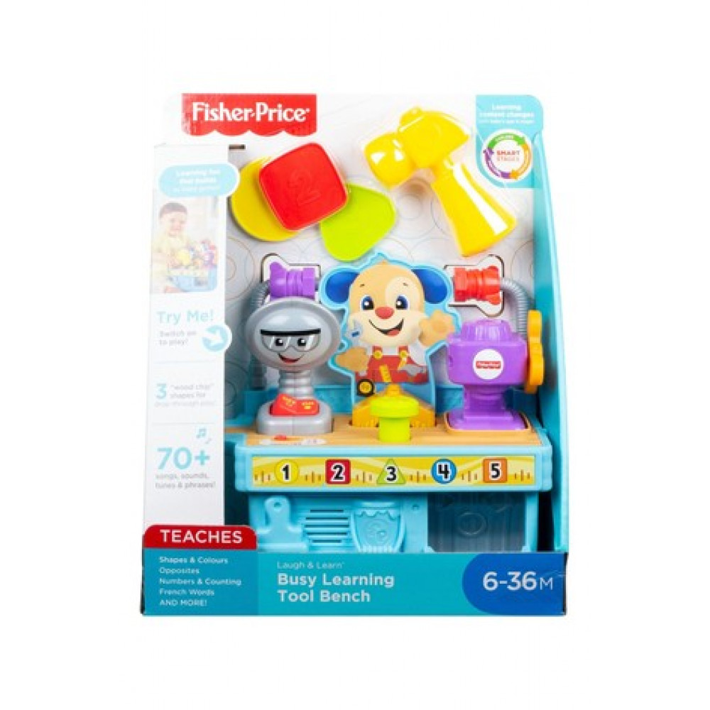 Fisher Price Busy Learning Tool Bench