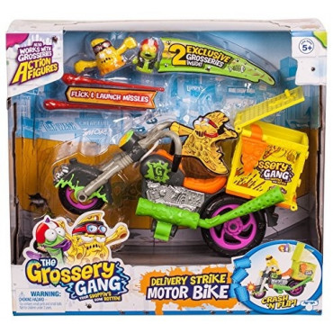 Grossery Gang Delivery Strike Motorbike