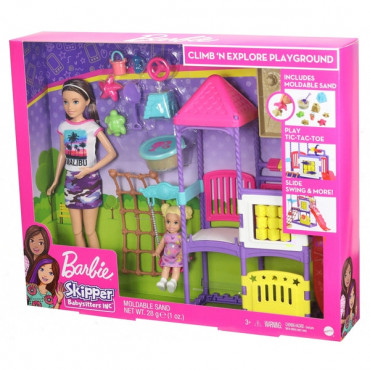 Barbie Babysitter Playground
