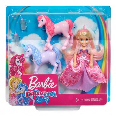 Chelsea Barbie Princess and Baby Unicorns