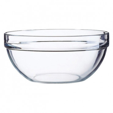 Glass Bowl 17Cm Tempered