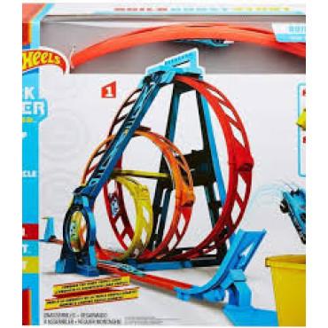 H/Wheels Track Builder Triple Loop Set