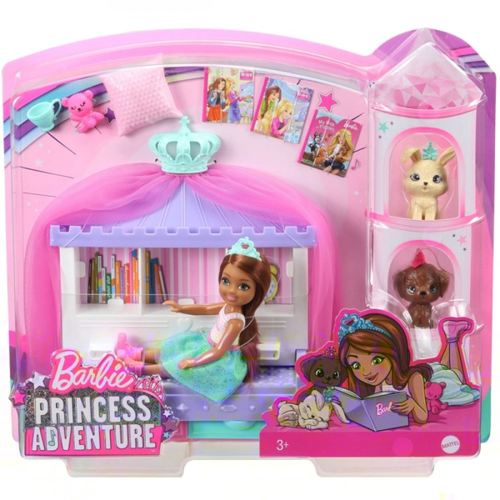 Barbie Princess Chelsea Adventure Playset