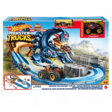 Hot Wheels Monster Truck Scorpion Playset
