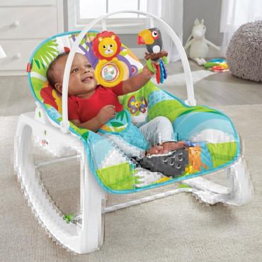 Infant to Toddler Rocker Green