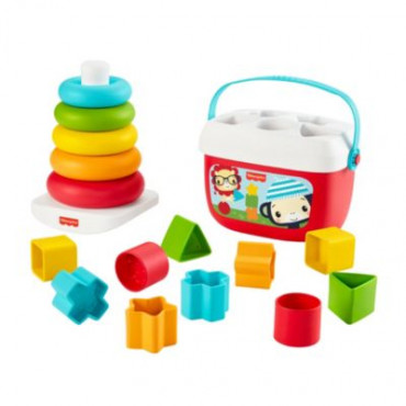 Baby's First Blocks & Rocker Stacker Double Pack