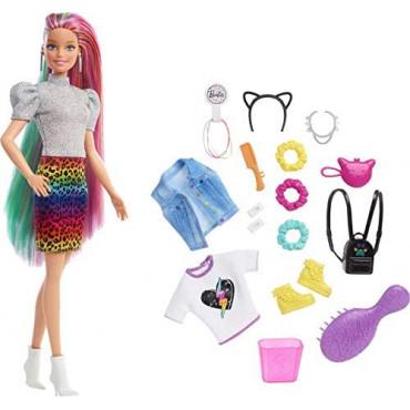 Barbie Cheetah Hair Doll