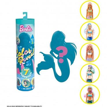 Barbie Colour Reveal Mermaids