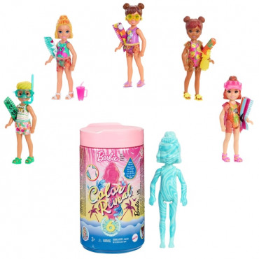 Barbie Chelsea Colour Reveal Sand and Sea
