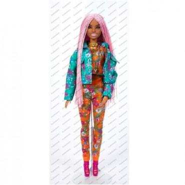 Barbie Xtra Doll with Pink Braids