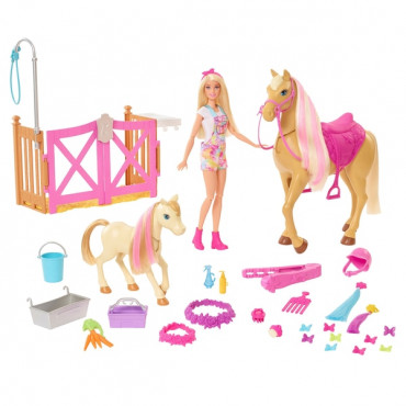 Barbie Groom and Care Horse