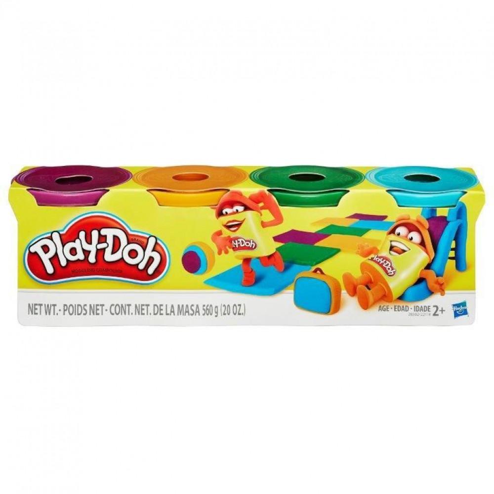 Playdoh 4 Pack Classic