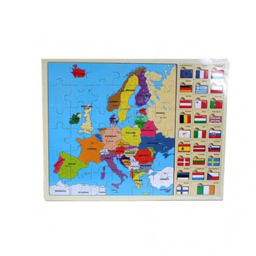 Europe&Maps Flag Puzzle