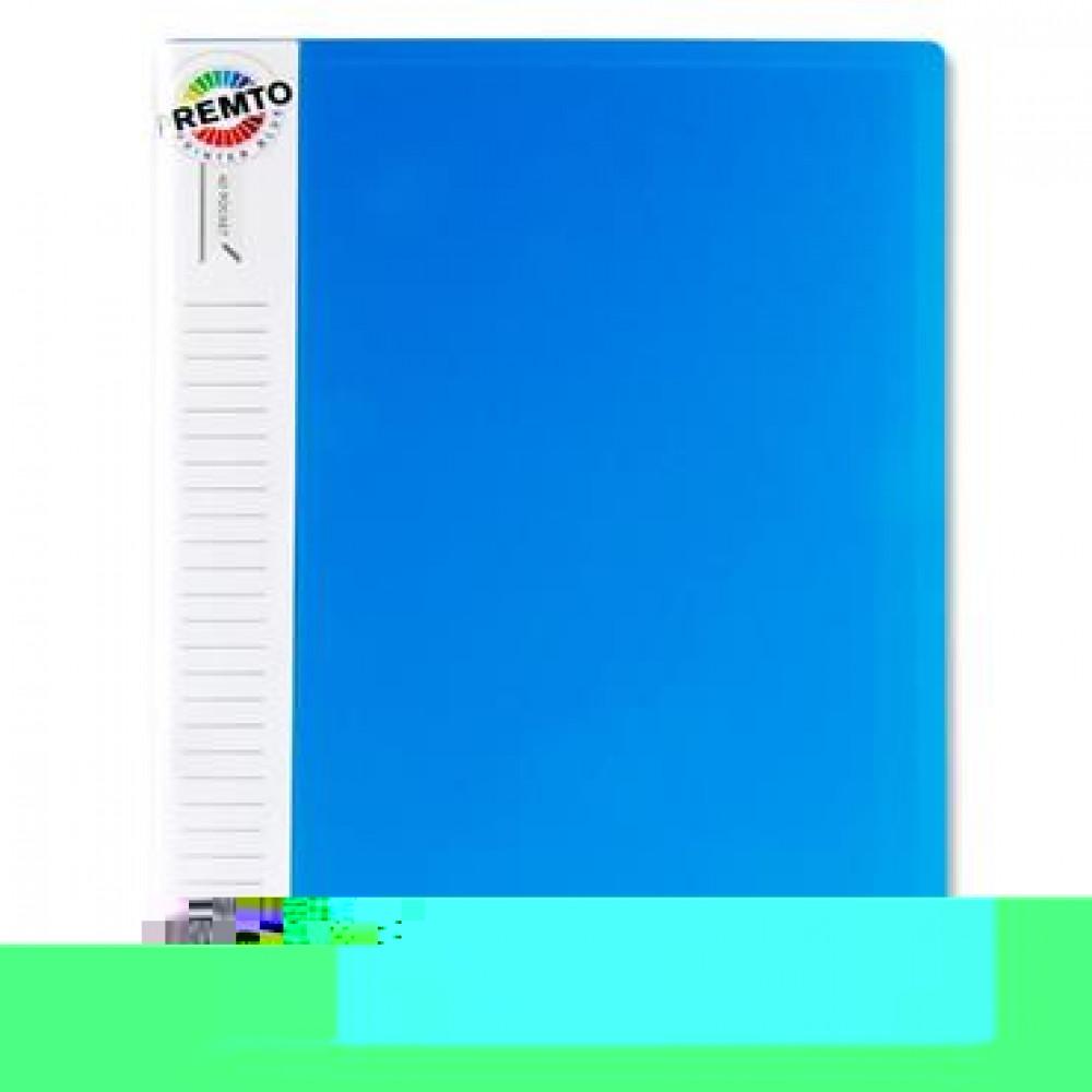 A4 40 Pocket Display Book Blue