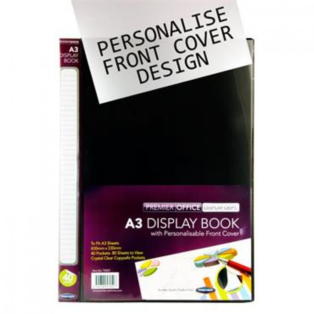 A3 Presentation Display Book 40 Pocke